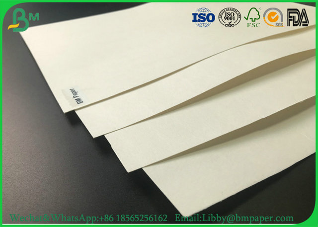 0.3mm To 3mm Uncooated White Absorbent Paper / Bibulous Paper For Desiccant Tablet