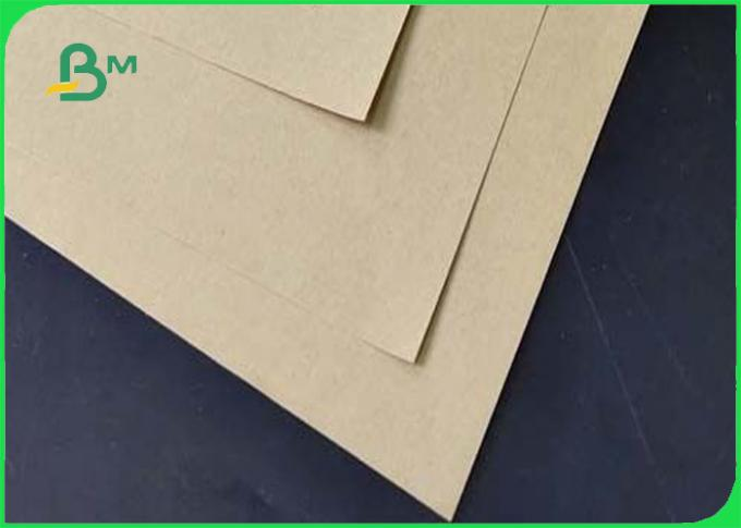 Pure Color Waterproof And Anti - Oil Brown Kraft Liner Paper For DIY Flowers Packing