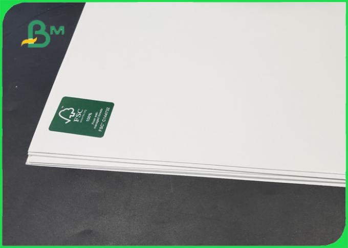 FSC & ISO High Thickness C1S White Cardboard 1.35MM 1.5MM For Making Name Card