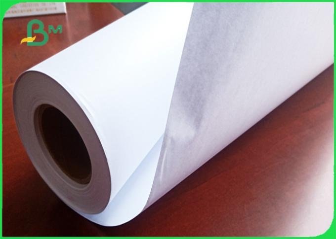 80 grams Smooth surface wear resistance inkjet plotter paper in roll
