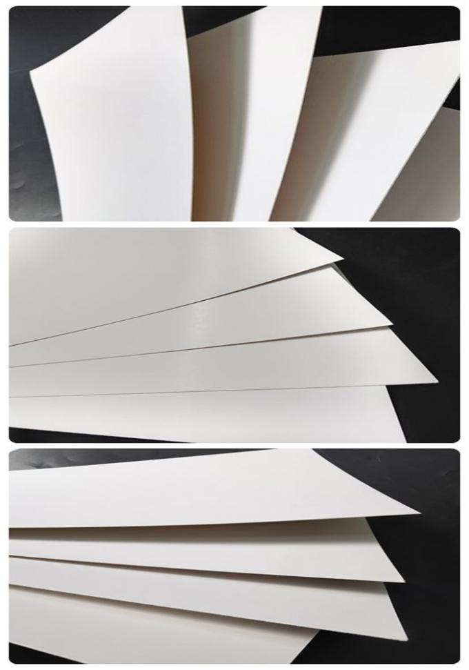 High Stiffness And Whiteness 180 Gsm - 450 Gsm Ivory Board Paper FSC Certified