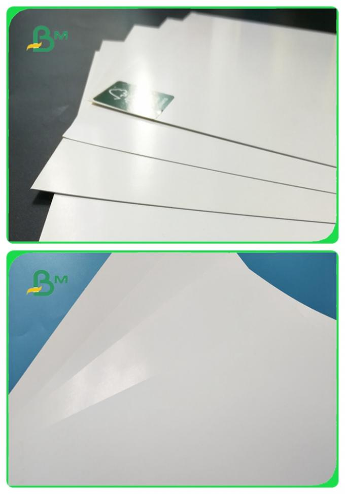 Shiny Offset Glossy Coated Paper / Couche Paper 90GSM 100GSM Size 90 * 64CM