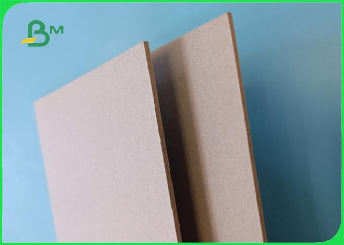 Wide 75*105CM Good rigidity moisture resistance 2.3mm Grey board in sheet