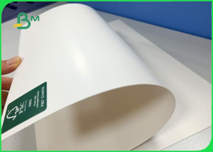 FSC Certified good bulk thickness 250gsm 270gsm 300gsm C1S ivory board fold in roll