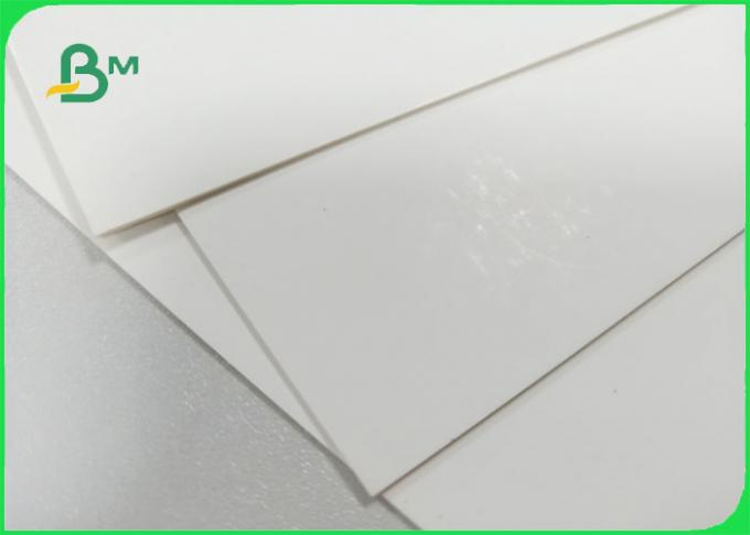 1mm 1.2mm 1.5mm High thickness Double side White Color card board for spurts draws