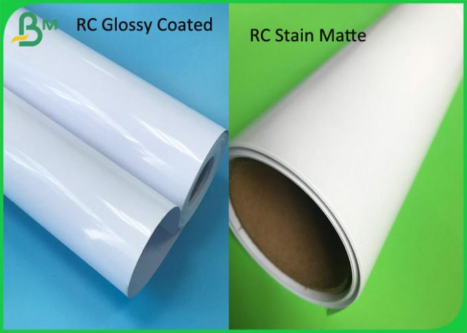 One sided Glossy and Matte Photo Paper RC Casted Coated 200G  Photo Paper Roll