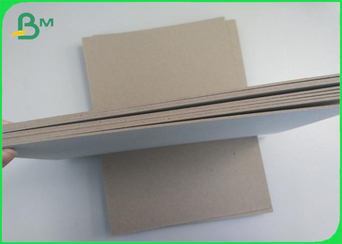 Plain Grey Board Recycled 2.0mm 1250gsm Hard Stiffness Paperboard