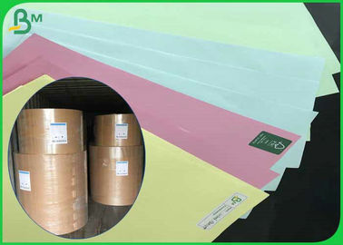 70 * 100cm 70gsm 80gsm Unfolded Woodfree Color Paper for Offset Printing